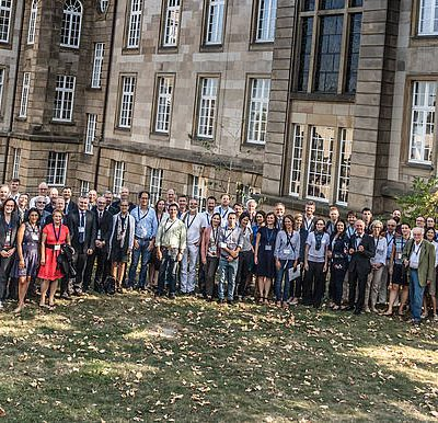 "Participants of the ""Chile Day"" 2018 in Bonn. Photo: Team Schnurrbart."
