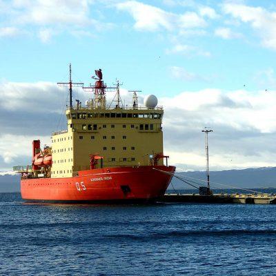 Argentinean research icebreaker ARA Almirante Irízar