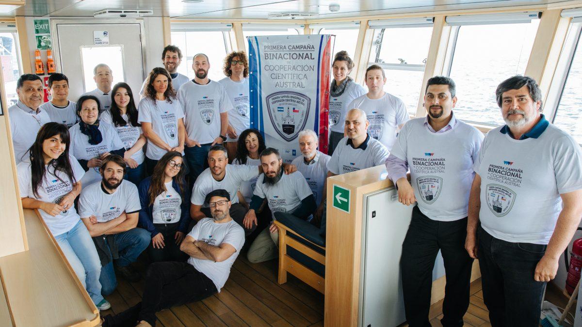 Bilateral Angelescu Cruise November 2019. Photo: Diego Nahuelhuén.